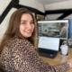 Emona Savova portrait in the office