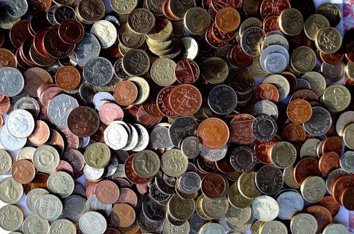 coins pound pence