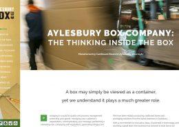 website packaging manufacture in Aylesbury