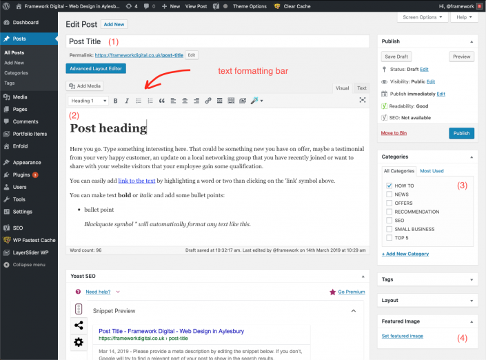 wordpress post edit key elements