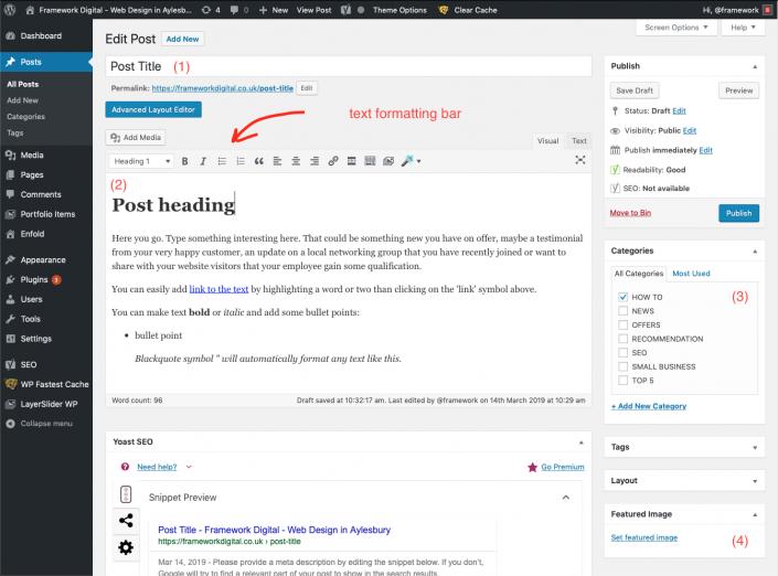 wordpress post edit key elements